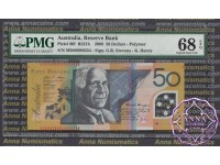 2008 $50 R521bL Stevens/Henry MD08 PMG 68 EPQ