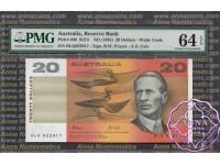 1991 $20 R413 Fraser/Cole PMG 64 EPQ
