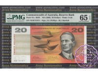 1968 $20 R403 Phillips/Randall PMG 65 EPQ