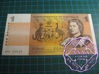 1967 $1 R72 Coombs/Randall aUNC