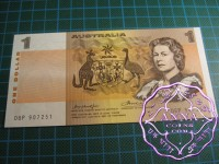 1976 $1 R76bL Knight/Wheeler UNC