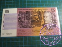 1969 $5 R203 Phillips/Randall UNC