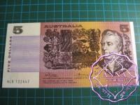 1974 $5 R205 Phillips/Wheeler UNC