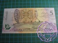 1993 $5 R216L Fraser/Evans UNC EA93
