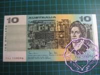 1983 $10 R308 Johnston/Stone UNC