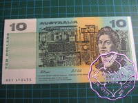 1991 $10 R313b Johnston/Stone UNC