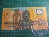 1988 $10 AA23 Johnston/Fraser UNC