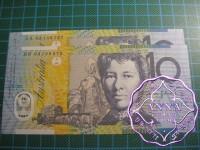 2003 $10 R320bF + L  Fraser/Evans UNC