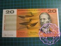 1966 $20 R401 Coombs/Wilson UNC