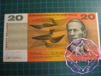 1967 $20 R402 Coombs/Randall aUNC