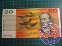 1968 $20 R403 Phillips/Randall UNC