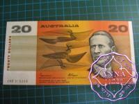 1985 $20 R409b Johnston/Fraser UNC