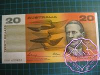 1989 $20 R411 Phillips/Fraser UNC