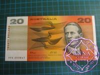 1991 $20 R413 Fraser/Cole UNC