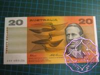 1991 $20 R415 Fraser/Evans UNC