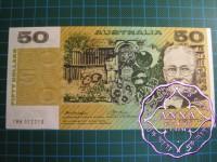 1976 $50 R506b Knight/Wheeler UNC
