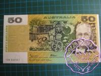 1985 $50 R509a Johnston/Fraser UNC
