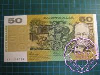 1989 $50 R511 Phillips/Fraser UNC