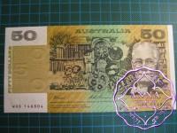1993 $50 R515 Fraser/Evans UNC