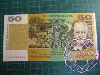 1993 $50 R515L Fraser/Evans UNC FAB