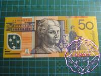 1995 $50  R516aF Fraser/Evans UNC AA95