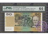 1973 $50 R505 Phillips/Wheeler PMG64 EPQ