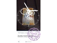 "Switzerland 2017 10 Francs UNC , ""Times"" 3D AR interactive Banknote"