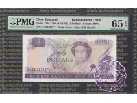New Zealand 1981 H.R.Hardie $2 P170a EA* PMG 65 EPQ