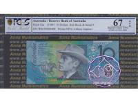 1995 $10 Red WM95000408 PCGS 67 OPQ
