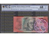 1999 $20 Macfarlane/Evans Black Opt PCGS 68 OPQ
