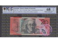 2002 $20 R420aF AA02 Macfarlane/Henry PCGS 68 OPQ