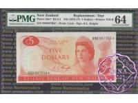 New Zealand 1975 R.L.Knight $5 990* PMG 64