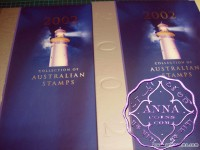 Australia 2002 Deluxe Yearbook Album with all Stamps FV$47.48