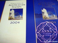 Australia 2004 Deluxe Yearbook Album with all Stamps FV$56.45