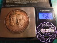 German 45g Silver Medal