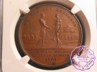 Sierra Leone1807 British Colony Penny Token NGC MS62BN