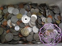 Mixed World Coins 4.5Kg
