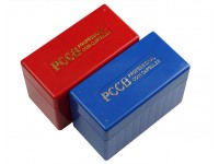 2 x Coin Storage Boxes For PCGS, NGC, etc Coin Slabs All OK. Each Hold 10 Slabs