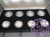 Australia 1985 -1993 Proof Silver $10 Set of 8 coins