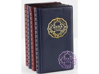 ANNA NUMISMATICS Mini  12 Coin Holders Pocket  Album