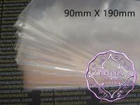 PCCB Professional Banknote Sleeves 90mmX190mm 50 Pcs