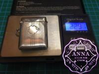 Birmingham Hallmarked 1927 Antique Sterling Silver Vesta Case Maker I.GL