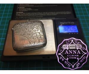 Birmingham Hallmarked 1903 Antique Sterling Silver Vesta Case Maker W & T
