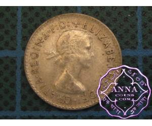 Australia Elizabeth II .50 Silver Threepence Average Circulated Condition